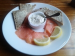 Severn and Wye smoked salmon, soda bread, tartare sauce