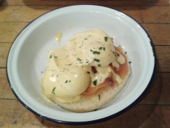 Boston Tea Party - Eggs Royale
