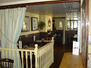 The relaxing restaurant environment at The Ship Inn