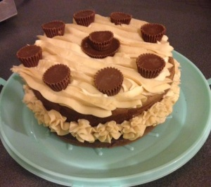 Chocolate and Peanut Butter Dream cake