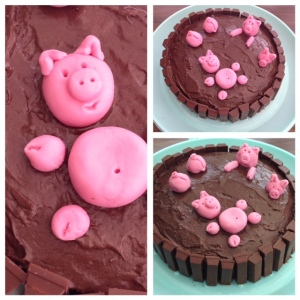 This Little Piggy cake