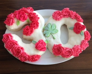 Irish Rose Cake